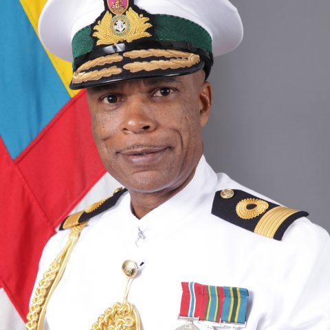 Official photo of Commodore Tellis A. Bethel