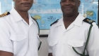 Acting Commander Defence Force, Captain Tellis Bethel along with FCPO Christopher Mackey