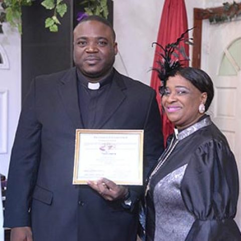 Petty Officer Tamico Adderley – Ordained as a Deacon at Christian Tabernacle Church