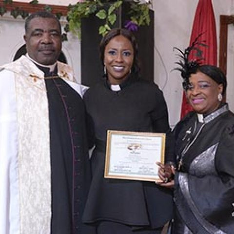 Lieutenant Thora Gardiner – Ordained as a Deaconess at Christian Tabernacle Church