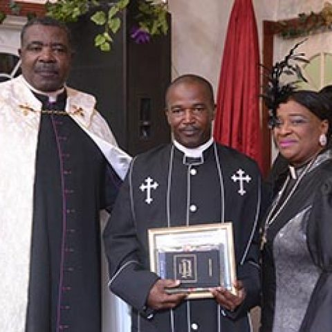 Petty Officer David Turner – Ordained as a Minister at Christian Tabernacle Church