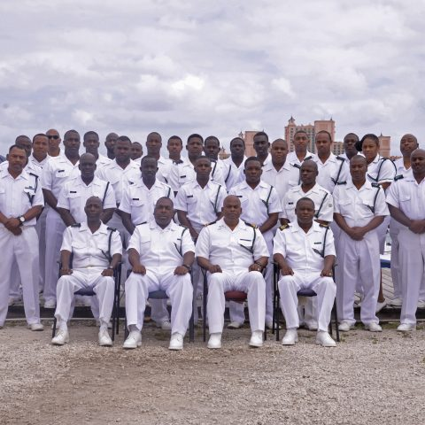 Group Photo of the Royal Bahamas Defence Force's Harbour Patrol Unit.