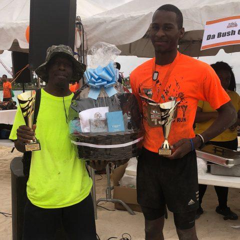 Mackey Williams (Overall Winner) and Marine Seaman Wellington Ramsey (2nd place)