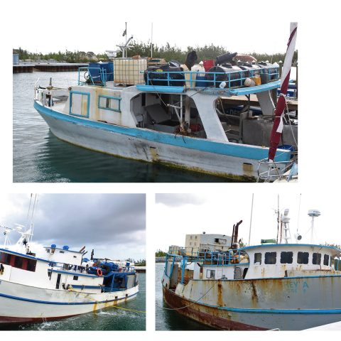 Dominican vessels currently berthed at the Defence Force Base