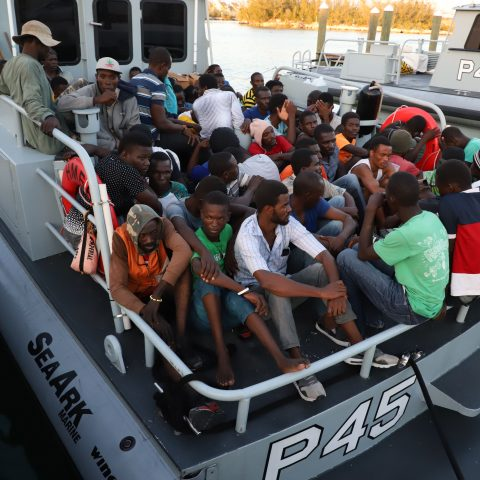 Illegal Migrants Transported To Defence Force Coral Harbour Base
