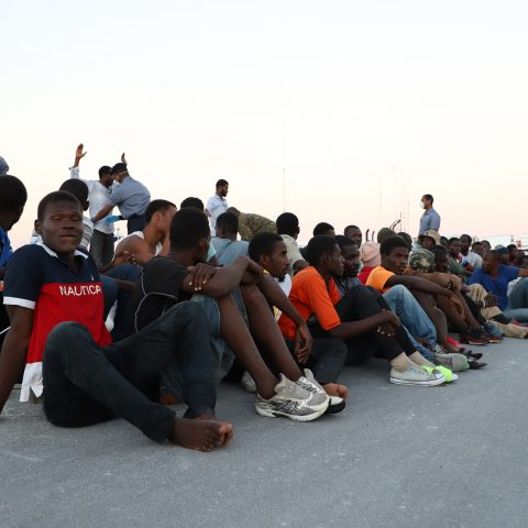 Illegal Migrants Apprehended By The Royal Bahamas Defence Force