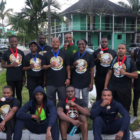RBDF Officers and Marines participate in RBPF Annual Fun Run Walk