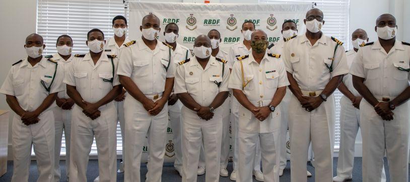 RBDF recognizes Patrol Vessel and Crew