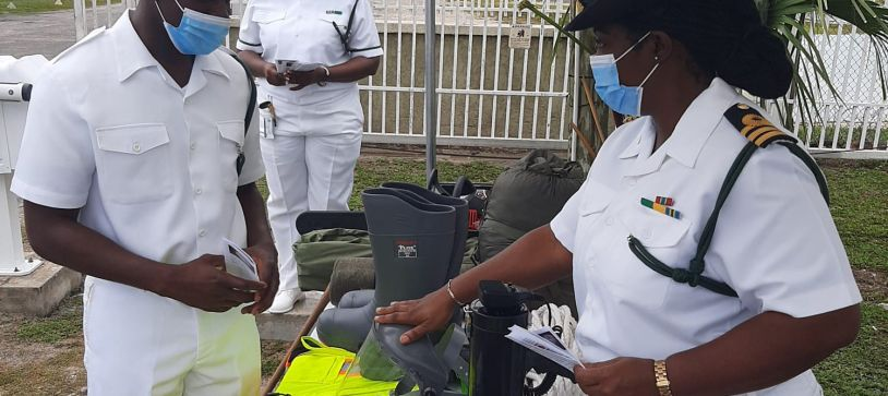 RBDF Disaster Management Unit in Action Mode for Hurricane Season