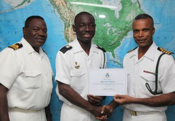 RBDF Welcomes Midshipman into Officers Corps.
