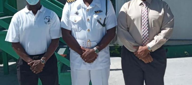 RBDF SOUTHERN COMMAND Captain tours Inagua and Satellite Base