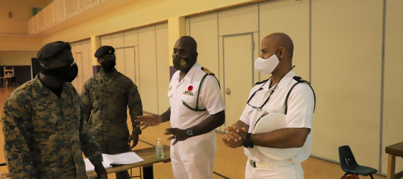Royal Bahamas Defence Force displays State of Readiness for Hurricane