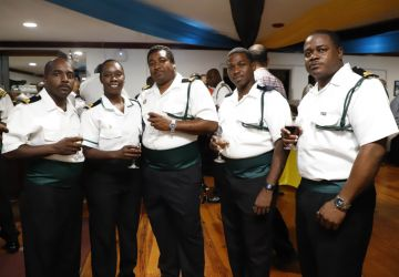 Defence Force Officers Host Post Independence Reception