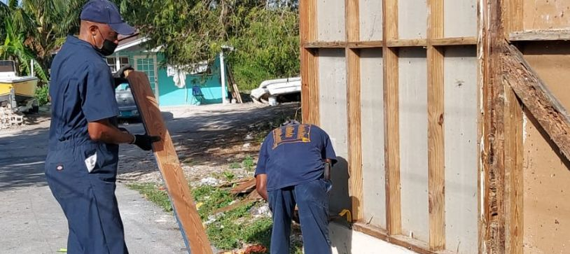 RBDF assists in Renovation of Home in Community