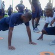 Defence Force Personnel participate in Annual Base Fitness Test