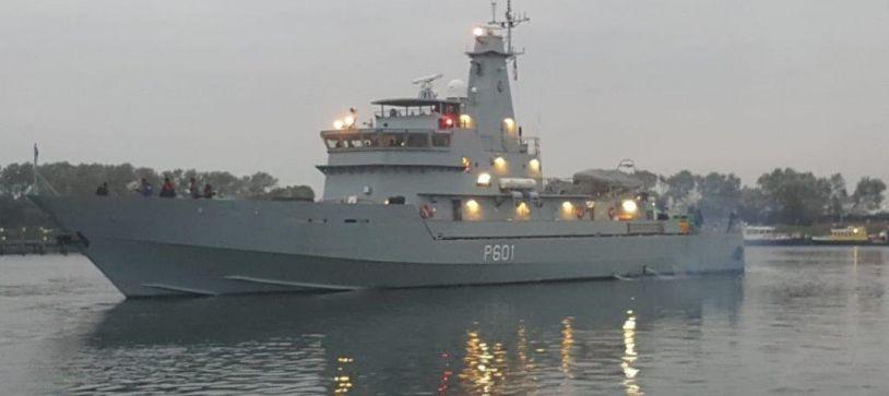 HMBS BAHAMAS Departs Netherlands
