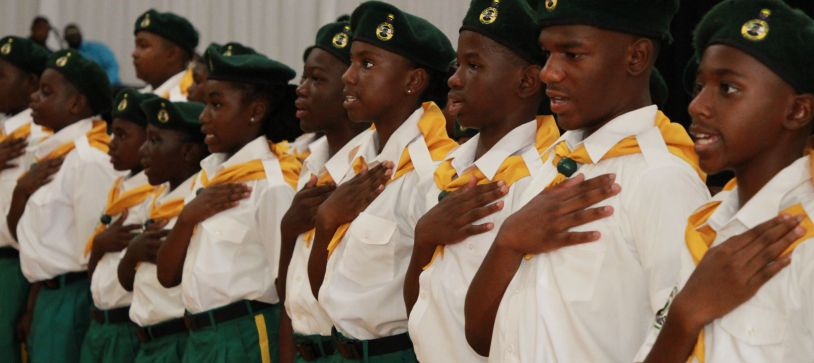 RBDF Rangers (Grand Bahama) Passing out Parade