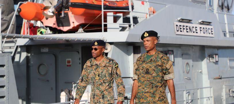 Jamaica Chief of Defence Staff Visits Abaco