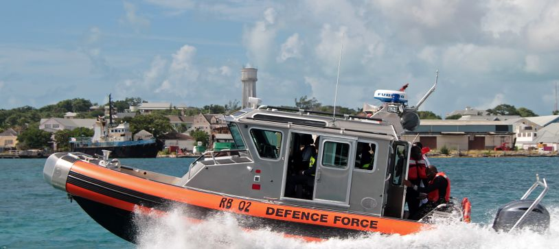 Defence Force receives Patrol Craft from US Government
