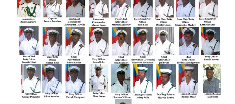 The Commander Defence Force (Acting) and the officers and marines of the Royal Bahamas Defence Force says Bravo Zulu to the retired men and women who have served their country with distinction. We pray God's guidance and protection as you embark on another journey in your lives.