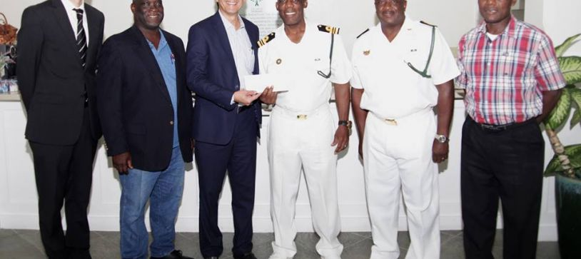 RBDF Squad donates to Cancer Society