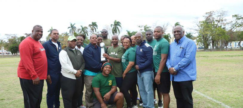 Delta Team Dominates RBDF  Flag Football Tournament