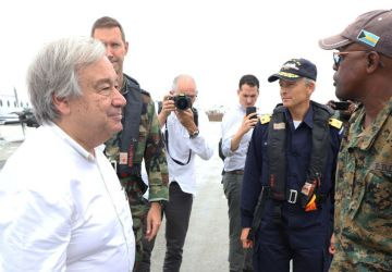 UN Secretary General visits Abaco