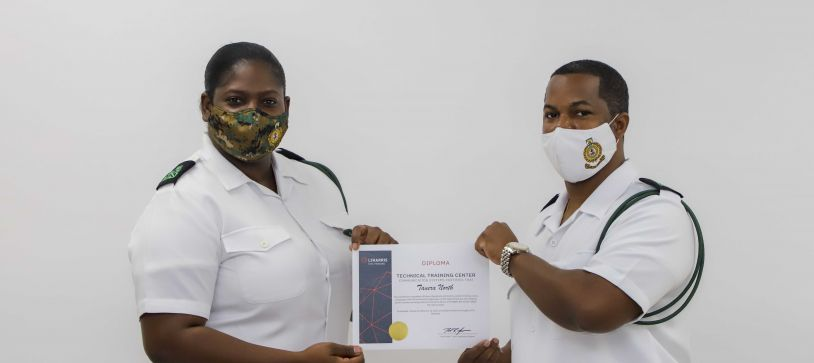 RBDF Personnel complete Harris Radio Course