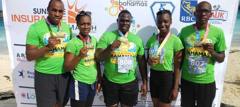 RBDF Participates in Marathon Bahamas 2020 (Sunshine Insurance)