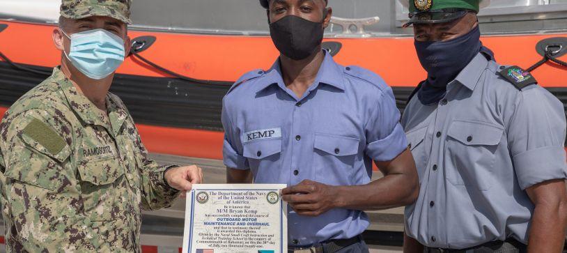 RBDF Personnel receive Mechanical Training