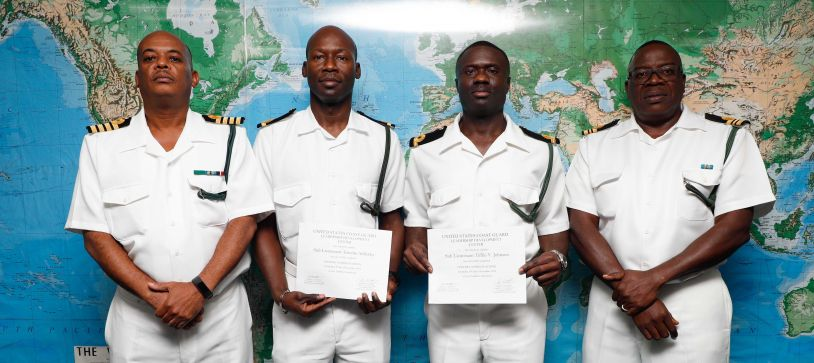 Royal Bahamas Defence Force Officers Complete Overseas Courses