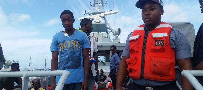 Haitian Migrant in Inagua