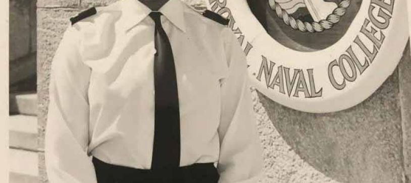 RBDF Salutes Lt. Cdr. Gaye (Retired) Major-Bykowski
