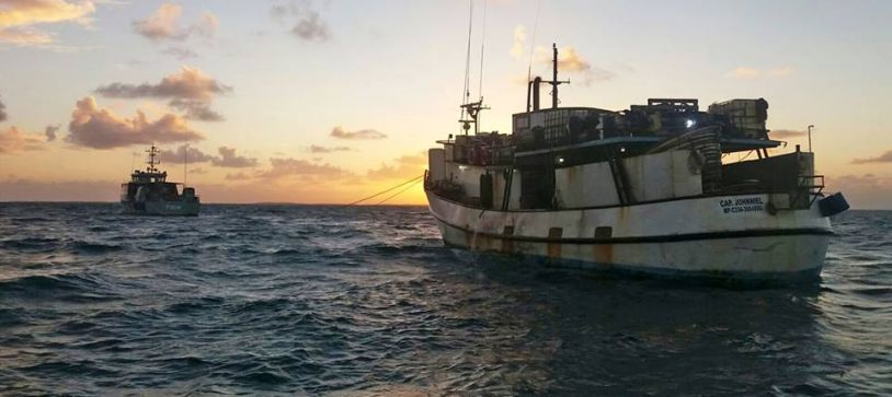 (UPDATE) 50 DOMINICAN FISHERMAN APPREHENDED BY ROYAL BAHAMAS DEFENCE FORCE