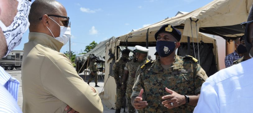 Minister of National Security leads Community Outreach in Abaco