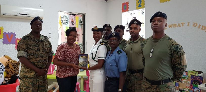 RBDF Southern Command donates to Library