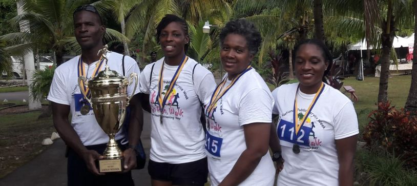 Defence Force Wins Floating Trophy
