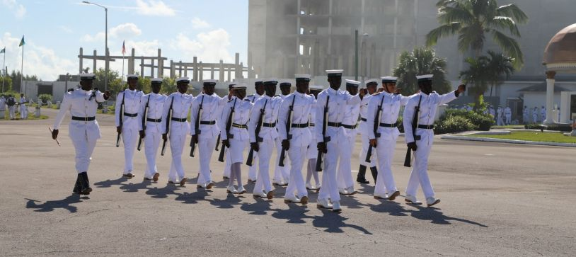 RBDF Welcomes Newest Squad of Marines