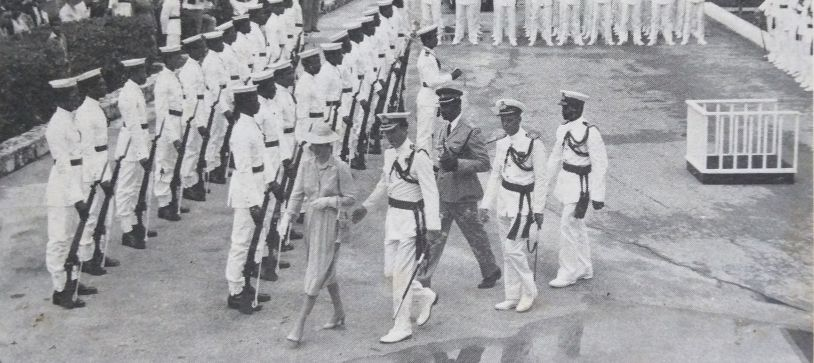 "This day in Bahamian history: The Bahamas Defence Force was conferred  the title  ""Royal"" by Princess Anne."