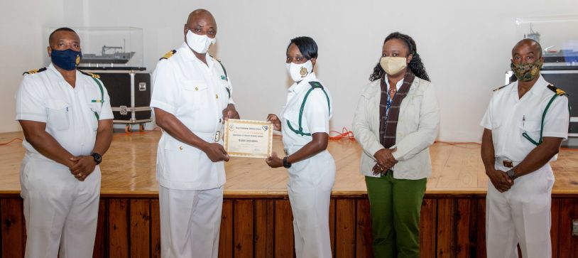 RBDF Conducts Trafficking in Persons Seminar