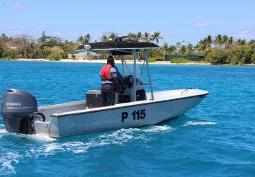 Defence Force's Harbour Patrol Unit Makes Arrest
