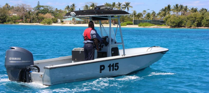 Defence Force's Harbour Patrol Unit Makes Arrest