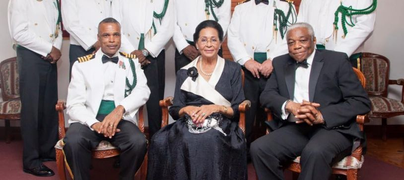 Governor General Dines with Defence Force Officers