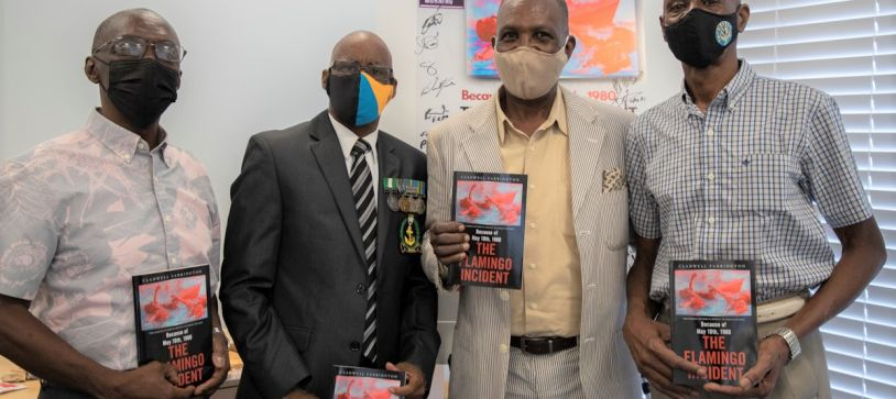 HMBS Flamingo Survivor writes Book of 1980 Incident