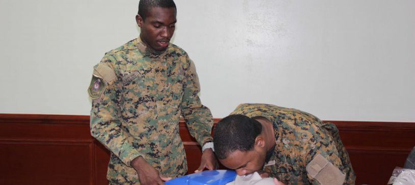 RBDF Medic Conducts First Aid Workshop