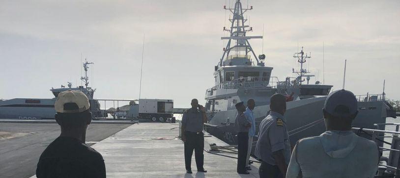 Dominican Poachers arrive in Capital