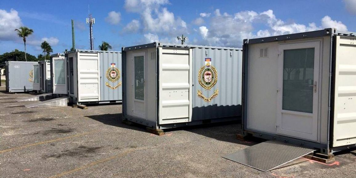 DEFENCE FORCE MOBILE BASE CITY TO PROVIDE MUCH NEEDED RELIEF FOR CROOKED ISLAND RESIDENTS