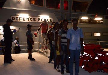 Defence Force Apprehends Haitian Migrants