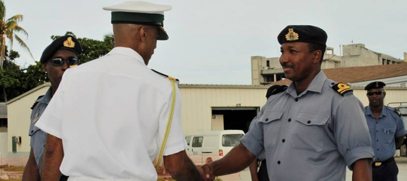Commodore Tellis Bethel Welcomes Commanding Officers & Ships' Companies back to Coral Harbour