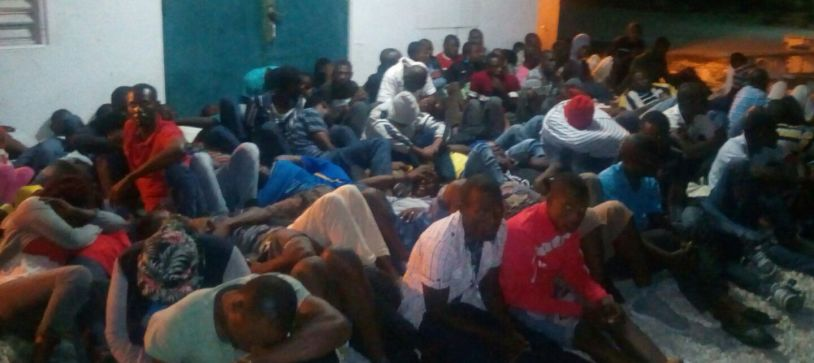 Migrants Detained